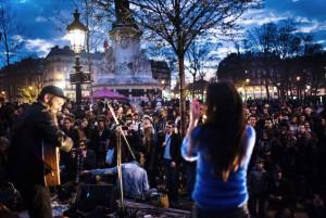 Nuit debout! Paris 41 mars 2016